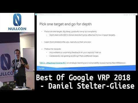 Best Of Google VRP 2018 | Daniel Stelter-Gliese