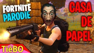 FORTNITE PARODIE CASA DE PAPEL - BELLA CIAO (FAIRE UN TOP 1)