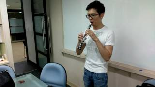 Ab Clarinet Testing by Mr.Eric Kao