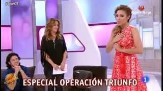 """Gisela en """"T con T"""" hablando de sus trabajos con Disney y cantando a capella """"Suéltalo"""" de Frozen"""