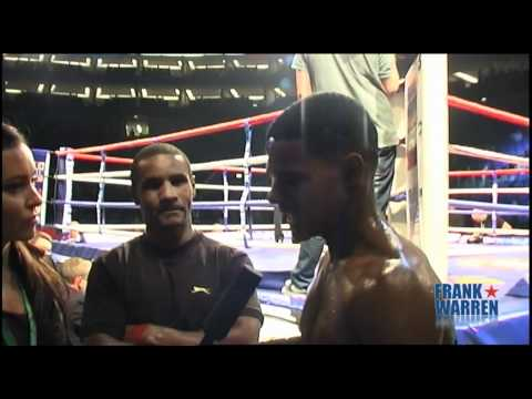 Francis Robinson Post Fight Interview