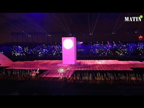 Video : Lancement en grande pompe de la 12e édition des Jeux africains à Rabat