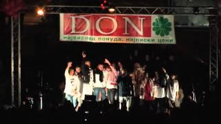 Slatkaristika - Olabavi me (promo live, 18 maj 2012, predmaturski koncert Ohrid by DON)