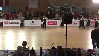 Salaspils Open 2017 - WDSF Junior 1 Open ST. Vilimanis - Zinovatna, SF Quickstep