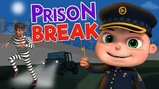 Prison Escape And More Police & Thief Episodes | Cartoon Animation For Children | Kids Shows