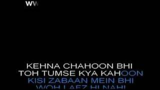 Main Agar Kahoon - Om Shanti Om - Karaoke