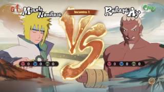 NARUTO SHIPPUDEN  Ultimate Ninja STORM 4 -  Minato Vs Raikage