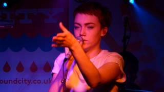 Chloe Howl - Disappointed live Factory - Liverpool Sound City 02-05-14
