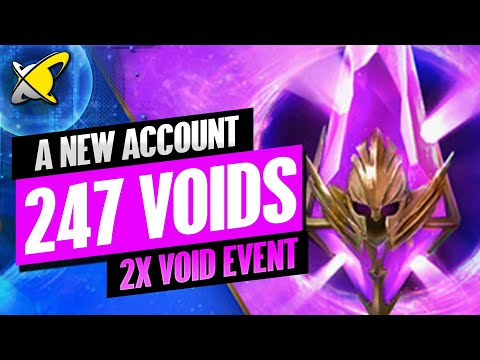 A NEW WHALE IS BORN !! | 247x VOID SHARDS !! | 2X Void Event | RAID: Shadow Legends