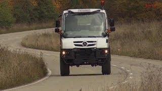 2014 Mercedes Benz UNIMOG U218 TEST DRIVE