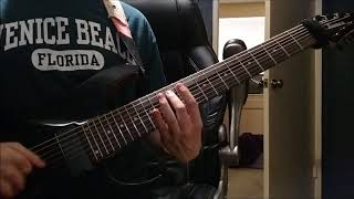 Lamb of God - Hourglass Instrumental Guitar Cover