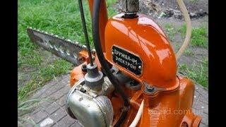 Немного о моторе бензопилы Дружба.