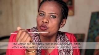 SAYIDA MUSA OMAR: A DARFUR WOMAN WHO USES ART TO WORK FOR PEACE