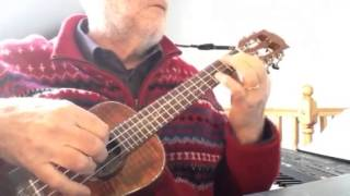 "Time To Say Goodbye -""Con te partirò""- Solo Ukulele - Colin Tribe on LEHO"