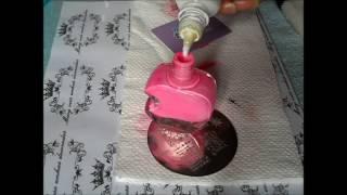 Como transformar esmalte comum em esmalte de carimbo