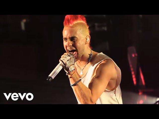 """VIdeo oficial de """"Closer to the edge"""" de Thirty Seconds to Mars"""