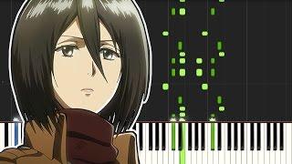 Shingeki no Kyojin OP - Guren no Yumiya ( Piano tutorial )