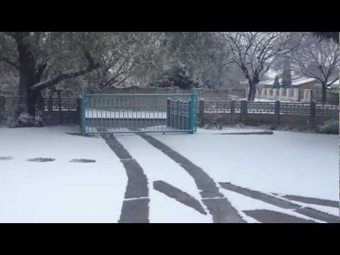 Snow in South Africa(inland)
