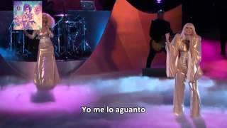 Lady Gaga Ft  Christina Aguilera   Do What U Want The Voice Subtitulado Español HD