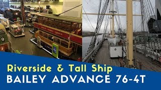 Riverside Museum And Tall Ship | Bailey Advance 76-4T | Bailey Motorhome City Tour