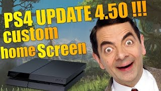 How to Change Your PS4 Background to ANY Image !!!