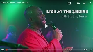 Promo Video: The Soul Music of A Man...Dr E.Turner Live in Harlem!