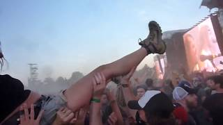 Airbourne - Live It Up - Live Hellfest 2017 (extrait ambiance)