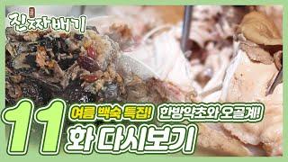 진짜배기 11화 다시보기 (여름 보양식 추천, 약초한방백숙과 오골계 백숙!) 다시보기