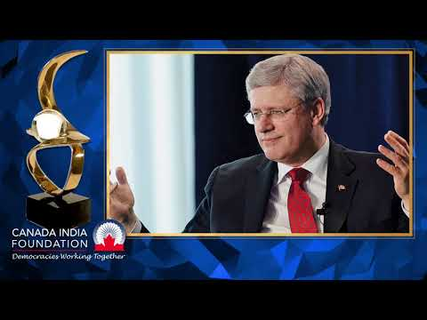 Award Recipient, Prime Minister of Canada, The Right Honourable Stephen J Harper