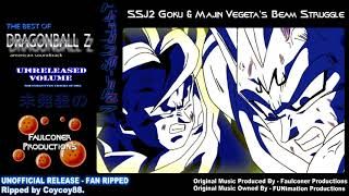 SSJ2 Goku & Majin Vegeta's Beam Struggle - (Blu-ray Rip) - [Faulconer Productions]