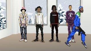 Shoreline Mafia - Gangstas & Sippas (feat. Q Da Fool)