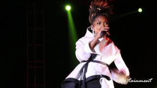 R & B Singer Brandy Performs at the Kansas City Jazz & Heritage Festival!