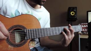 Amy Winehouse - Back to black  Acoustic fingerstyle cover