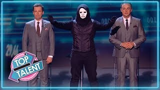 MASKED Magician Give Ant & Dec The SHOCK Of Their Lives! | Magicians Got Talent