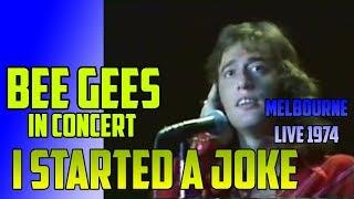 Bee Gees - I Started A Joke LIVE @ Melbourne 1974 Concert  11/16