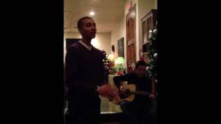 Kalin White - Mistletoe (acoustic cover)