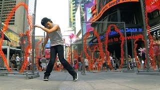MAKE IT BUN DEM   DUBSTEP   KJ @ Times Square New York NYC (Inspired by WHZGUD2 Marquese Scott)