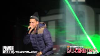 "J .Cole Performs ""Nobody's Perfect"" at Sold Out Cali Christmas 2012"