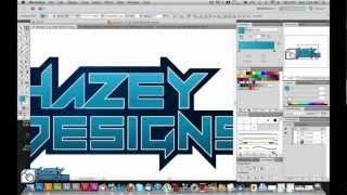 Hazey Designs video logo (watermark)
