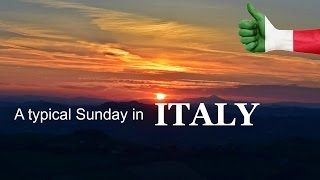 A typical Sunday in Italy | Daily Travel Vlog 99, Le Marche, HD