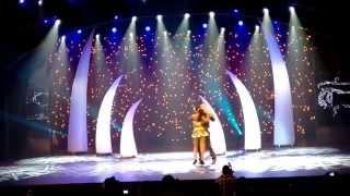 Africadancar 2015 Final - Kizomba show - Pawel & Marly