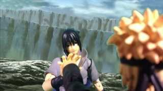 Naruto Stop Motion Naruto vs Sasuke the final battle fan animation
