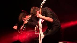 HD - The Trooper (Iron Maiden) - 2Cellos - Udine 2014
