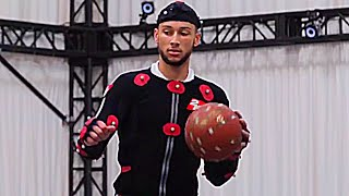 Ben Simmons Motion Capture Footage - NBA 2K19