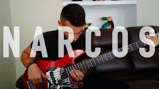 Narcos -Tuyo [Rodrigo Amarante] [Opening Credits]  Juande Nadal - Bass Cover