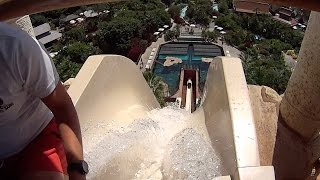 The Tower of Power Water Slide at Siam Park
