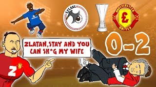 🏆MAN UTD WIN THE EUROPA LEAGUE🏆 (0 -2 Ajax vs Manchester United Parody Goals & Highlights)