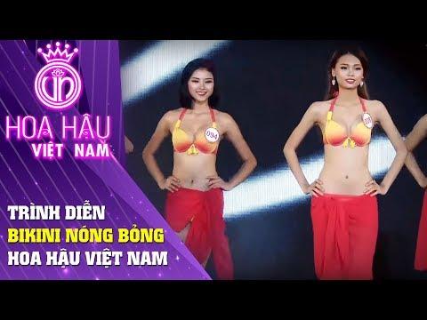 Hoa hậu Việt Nam | Phần trình diễn bikini nóng bỏng của các thí sinh