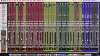 "Pablo - ""Vintage"" - Pro Tools Mixing Session (Balance)"