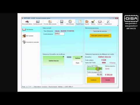 SOFTCARD - Ricaricare il credito di una tessera ovale